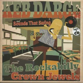 LP+CD ✦THE ROCKABILLY CROWN JEWELS✦ Keb Darge & Sounds That Swing Selection ♫